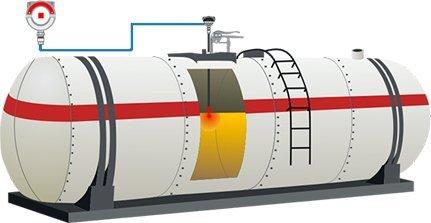 Sensor de Nível para prevenção de transbordo em caminhões