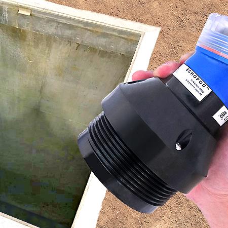 aplicação-flowline-refletivo-nivel de água em poço reservatório