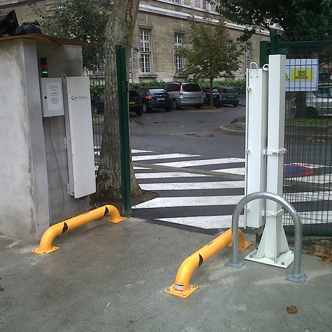 LB 112 portico detecção radiação